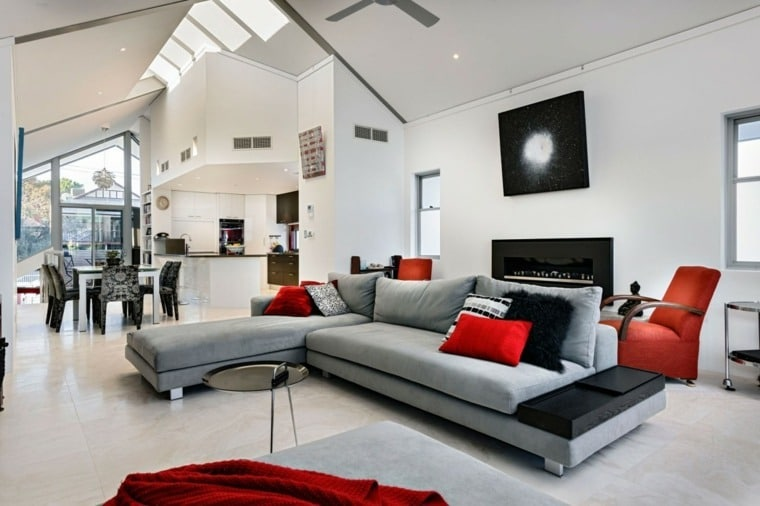 couleurs maison moderne