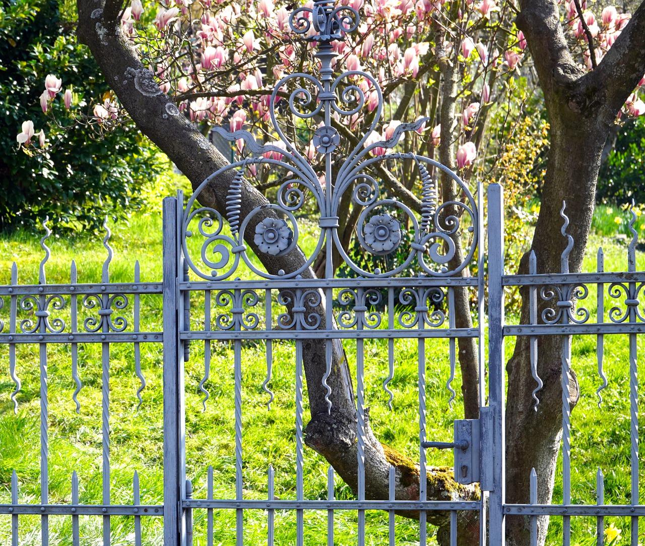 habiller un portail en fer